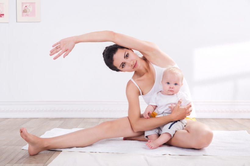 Парная йога с малышом
